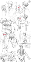 MM - Nagi and Hayato sketches by chaisuke