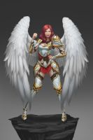 Angel warrior Concept by Zamberz