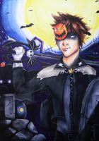 Halloween Sora by CosmosKitty
