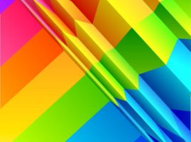 Colorful rainbow background design by vectorbackgrounds