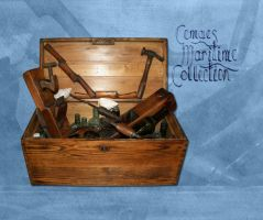 A box of various items by CemaesMaritime