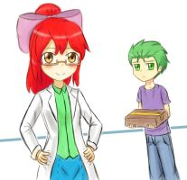 Meet Spike your new lab assistant/partner by JumboZ95