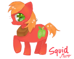 Big Macintosh (Mare Version) by squidpox