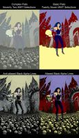 Death from The Sandman Flats by CB. by CB-ComicArt