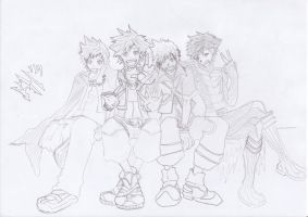 KH's by MaybeCloser