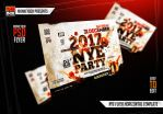 NYE Flyer Horizontal Template by AndyDreamm