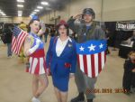 Captain America-Agent Carter and USO Girl by altrondragon