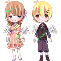 Angel Adopts - [2/2] OPEN by s-kasumi