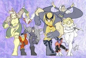 Wolverine and the X-Men2 by Synessa