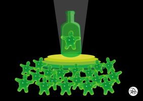Flubber humor Illustration by tonetto17