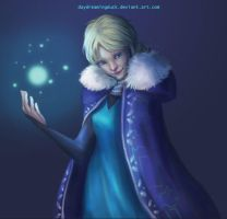 Elsa The Snow Queen by DayDreamingDuck