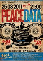 peacedata night poster by sounddecor