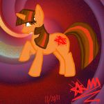 My OC pony as Twilight Sparkle by BloodstarSpyro88
