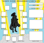 Superhero Checklist Meme by Kasekine