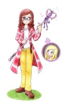If We Were Weapon and Meister by nya-nannu