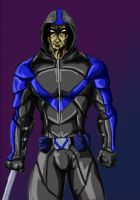 Nightwing Redesign by A-Train409