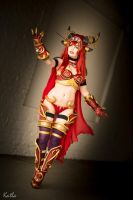 Alexstrasza Cosplay World of Warcraft by KawaiiTine