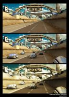 Highway_scene WIP by aksu