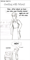 Cooking with Winry by tsukiflower