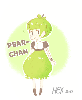 Pear-Chan by Duntem