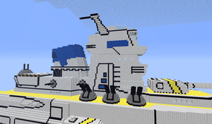 minecraft battleship finished product part 12 by tx-game-player21