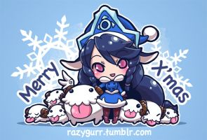 LoL: Happy Poro-filled Holidays! by Maksn