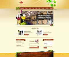 Website_layout_wood by khurram-cr8ive