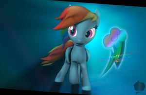 [SFM] Rainbow Dash by Moonight118
