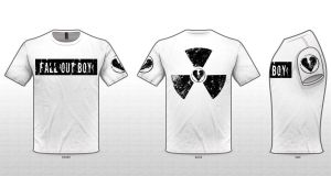 Fall Out Boy - Custom Band Tees IV by SikkPup