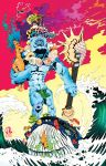 Kahuna Frank (Colors) by GMrDrew