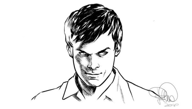 Dexter fast sketch by elena-casagrande