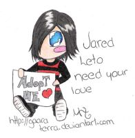 Chibi Jared Leto by Gaaraterra
