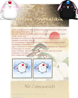 MOKONA journal skin by 3K-more
