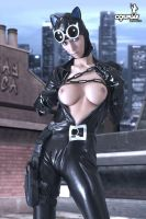 Catwoman not safe for work by cosplayerotica