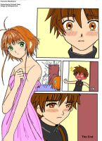 Poor Sakura, Naughty Syaoran by Farumir