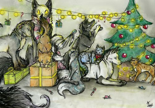 Merry Christmas ! by Schruppi