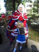 AWA '13: Shinki and her little Alice by NaturesRose