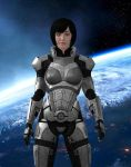 MASS EFFECT:  Mary Shepard, Earthborn Survivor by CharlesWS