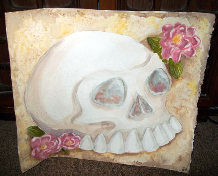The Birthday Skull by concertina
