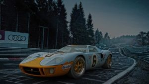 Ford GT40 classic by melkorius
