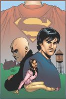 Terry Dodson Smallville Cover by Galon