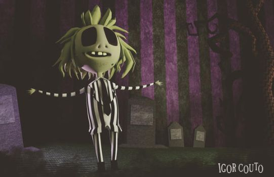 Beetlejuice by igorcouto