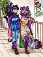 Shopping Time by ManueC