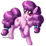 Sugar Belle being cute - commission by ShinePawArt