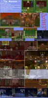 Sims2 KH2The Mansion DL INSIDE by toki28