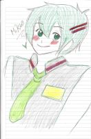 Vocaloid Mikuo by Chocotorta