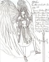 Magical Warrior: Anael by archangel1012345