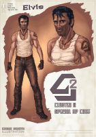 character Design - Elvis by ChrisNoeth