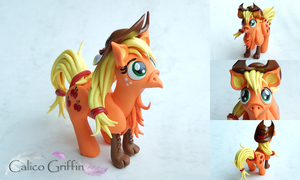 My Little Pony: Applejack Ponygriff by CalicoGriffin
