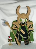 Lokiplushie (two of two) by MasterPlanner